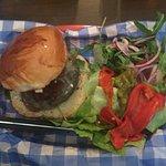 Srirachi Mushroom and Feta cheese - vegetarian sandwich