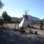 Campamento indio.