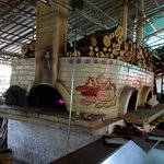 The wood fired oven
