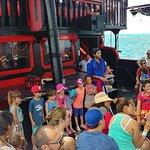 Pirate ship boat ride