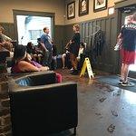 Semi busy waiting area