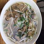 Pho Bo sliced beef soup