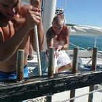 Getting that mainsail halyard tight