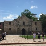 Front View of The Alamo