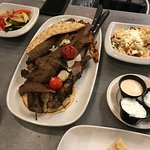 The Mixed Grill was wonderful, delicious, generous in portion and a perfect pick for the two of