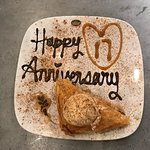 A very custom, thoughtful and generous gift of the baklava for our anniversary.