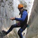 Rappel sur corde à la découverte des plus beaux canyons des Alpes d'Azur