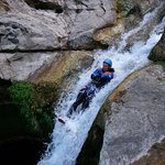 Go for a fun trip with canyoning in the Gorges du Loup!