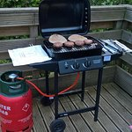 Request use of BBQ from reception