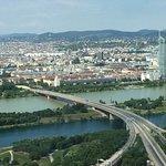 Wien vom Donauturm Richtung Stadtzentrum
