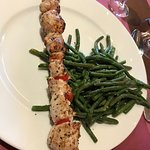 Chicken Kabobs with Stringbeans