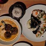 Monkfish, Meatballs
