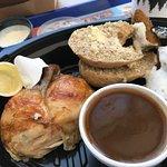 Yummy roast chicken