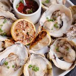 Pop in for fresh oysters with mignonette today !