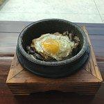 Hot Bowl - Tofu with mushrooms and egg