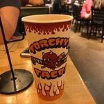 Log cup