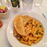 Large serving size of Rigatoni Pasta