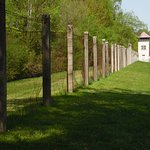 The Perimeter fence and watchtower