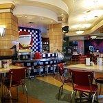 Interior Shot of Diner Bar ARea