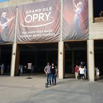 entrance to the Opry