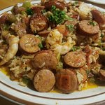 shrimp and sausage jambalaya