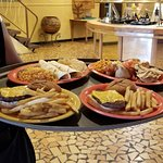 Bill Lewis of Cooper City, Florida, enjoying faux Mexican food at South of the Border.