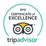 """We have received """"Certificate of Excellence 2018"""" from Tripadvisor"""