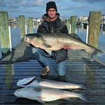 Striped Bass Fishing Trip