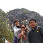 way to Tiger's Nest, Bhutan
