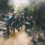 enjoy the canyoning trip