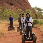 Cruise effortlessley around the base of Uluru