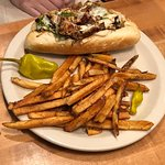 Mountain Sun - Chicken Pesto Cheesesteak