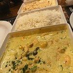 Garnelen mit Curry