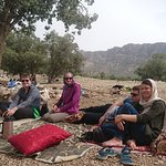 After visiting Shapur cave we had a very nice moment with Qashqai nomads around Chogan valley!