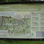 Carte du village