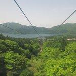 Ropeway to Lake Ashi