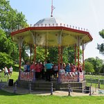 Bandstand in use