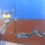 Quirky Street Art in Kalgoorlie
