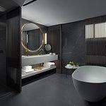 NJV Athens Plaza Presidential Suite Bathroom