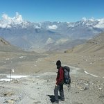 Photo of Annapurna Mountain Range