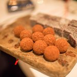 Yummy truffles - which we weren't even expecting!