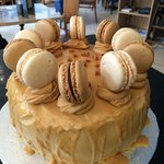 Toffee and Macaroon Cake