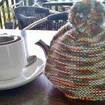 Leaf tea and teapots