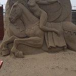 Weston Sand Sculpture Festival-bild