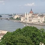 View of Parliament from Buda side of Budapest