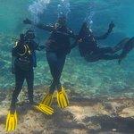 El postureo no podía faltar, incluso debajo del mar