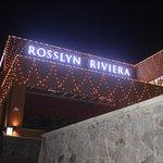 Christmas lights at Rosslyn.