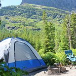 Foto de Many Glacier Campground