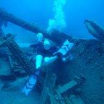 El Aguila Artificial Wreck. 109' at bottom