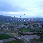 More than 100 balloons flying at 6 am